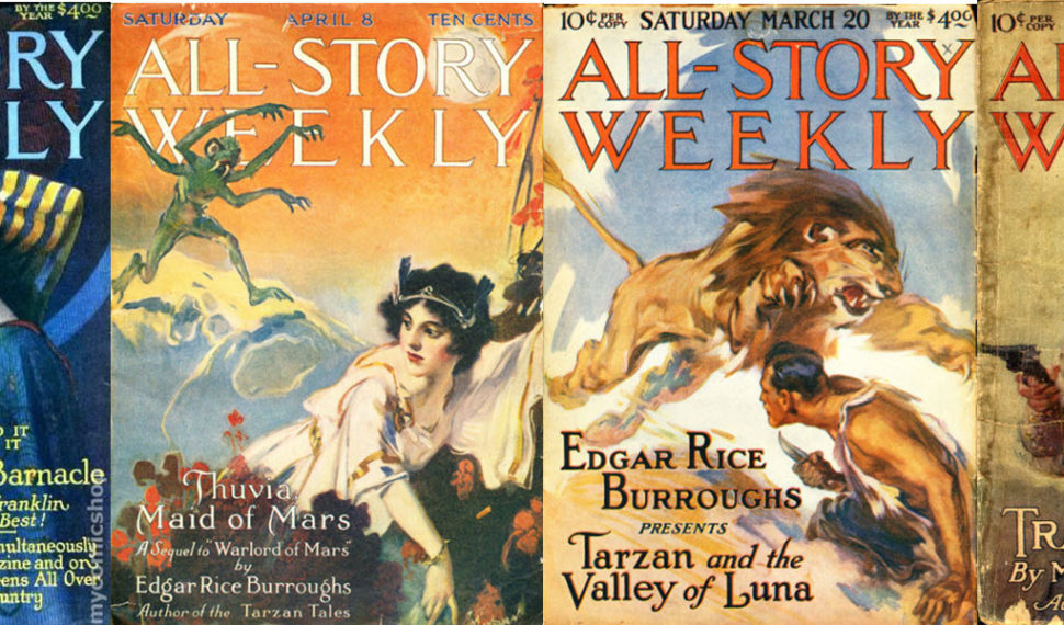 All-Story Weekly Magazine Issues
