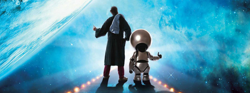 hitcherhiker's guide to the galaxy timeline banner art