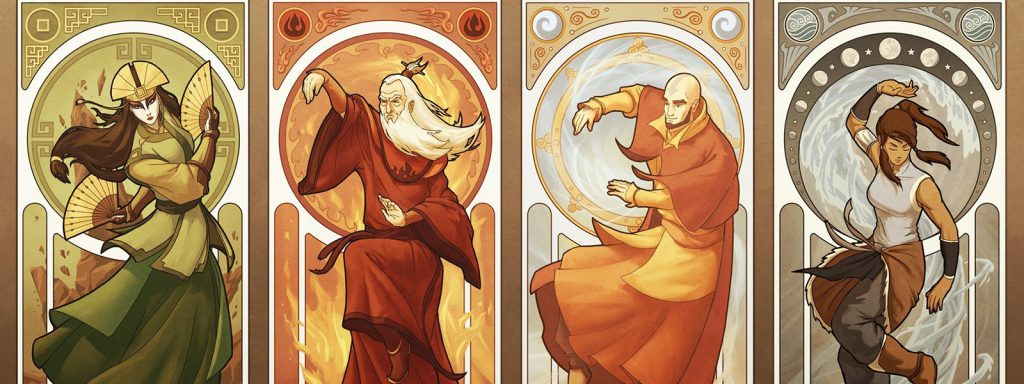 avatar the last airbender timeline banner art