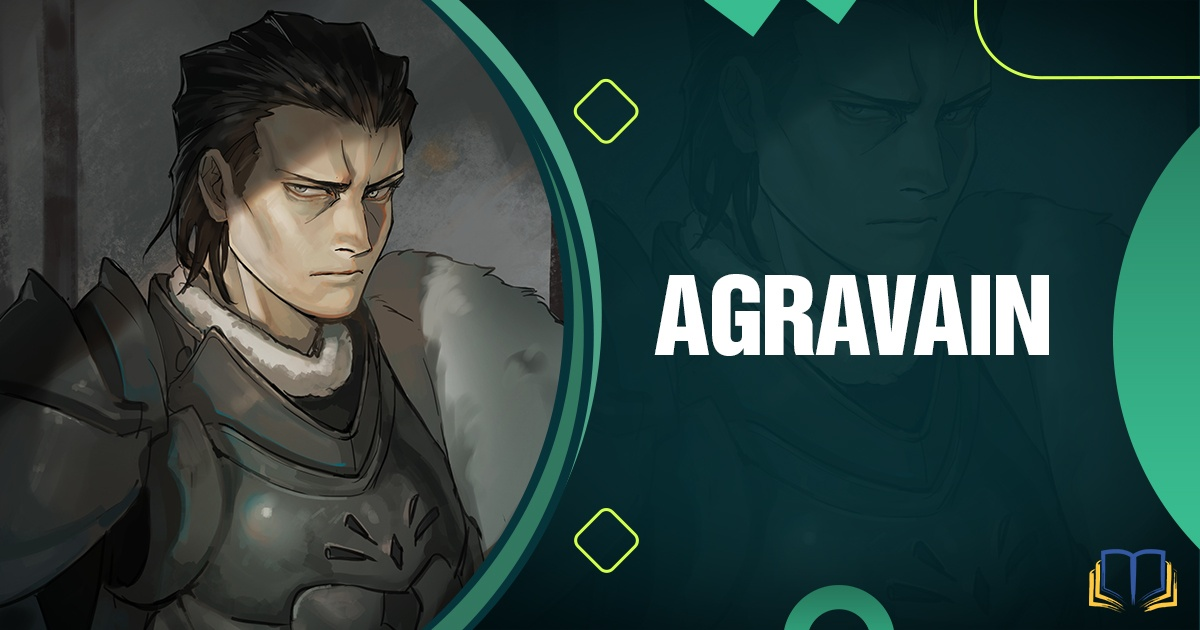 banner that says Agravain