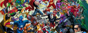 amalgam universe reading order banner art