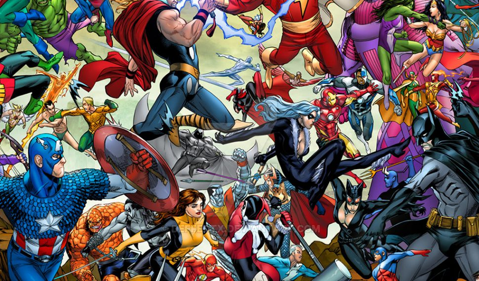 The Amalgam Universe Timeline (DC vs. Marvel)