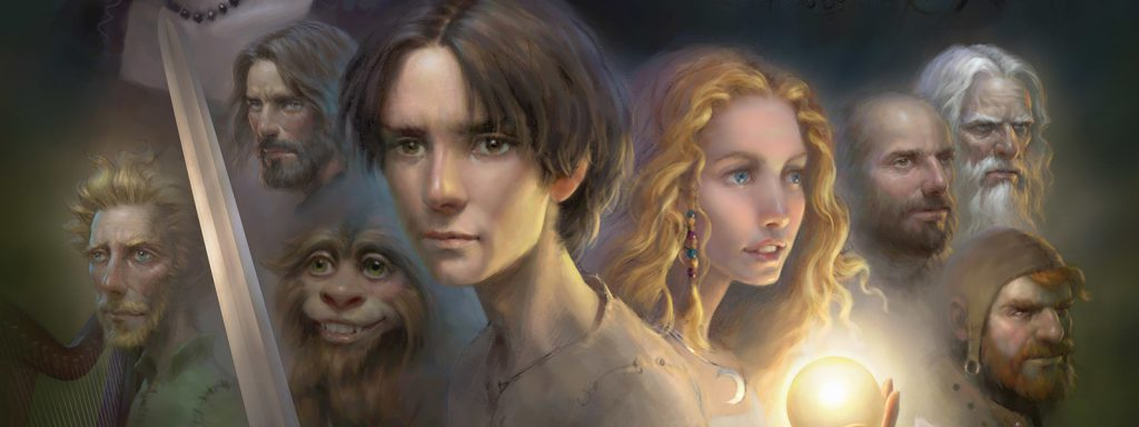 chronicles of prydain reading order banner art