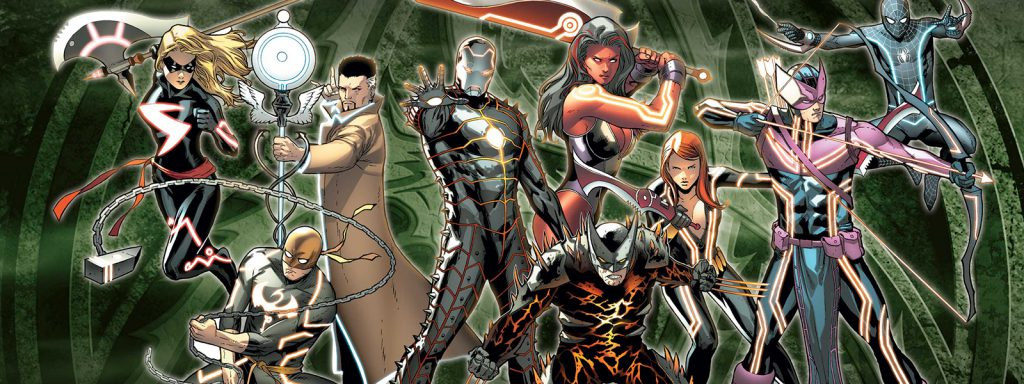 dark reign reading order banner art