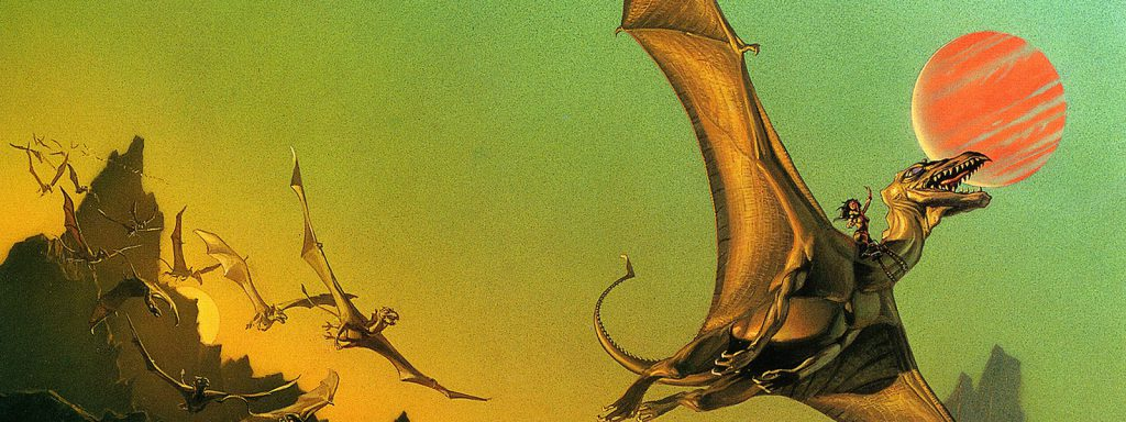 dragonriders of pern reading order banner art