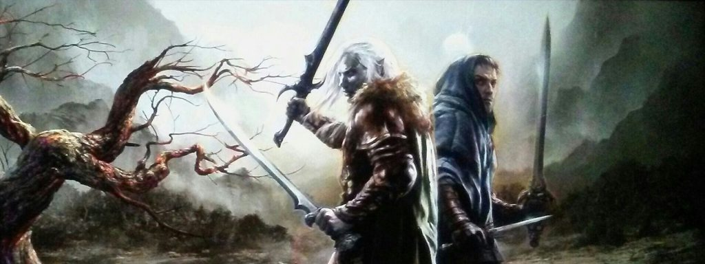 legend of drizzt reading order banner art