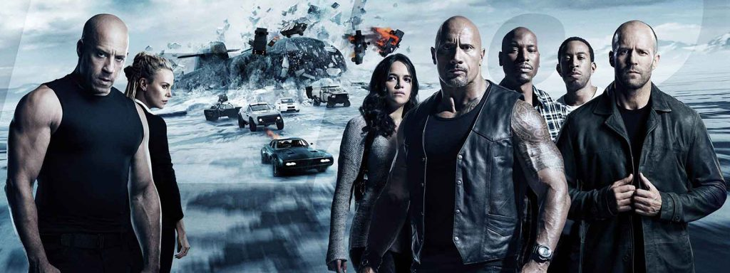 fast and furious timeline banner art