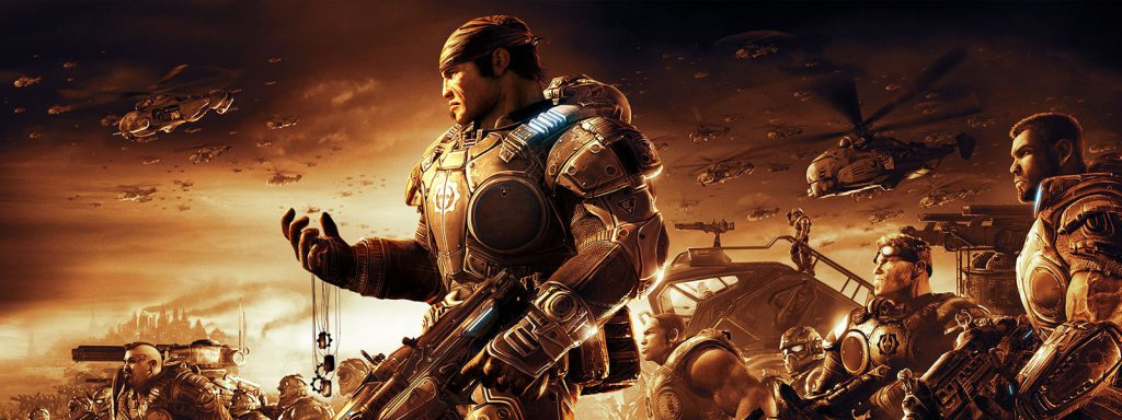 gears of war timeline banner art