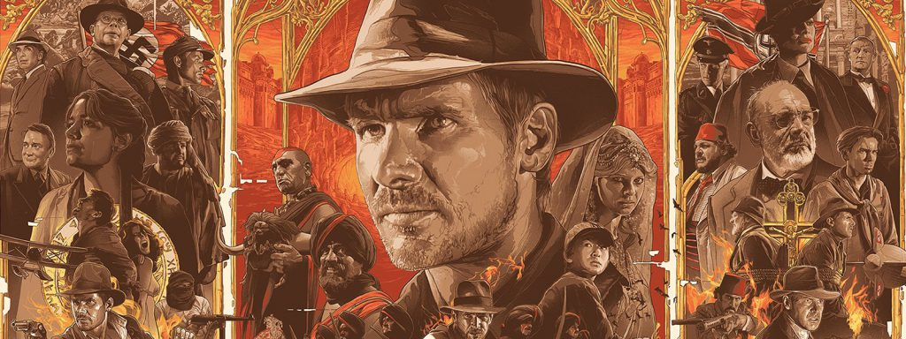 indiana jones timeline banner art