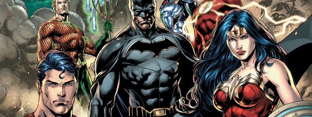 justice league reading order banner art
