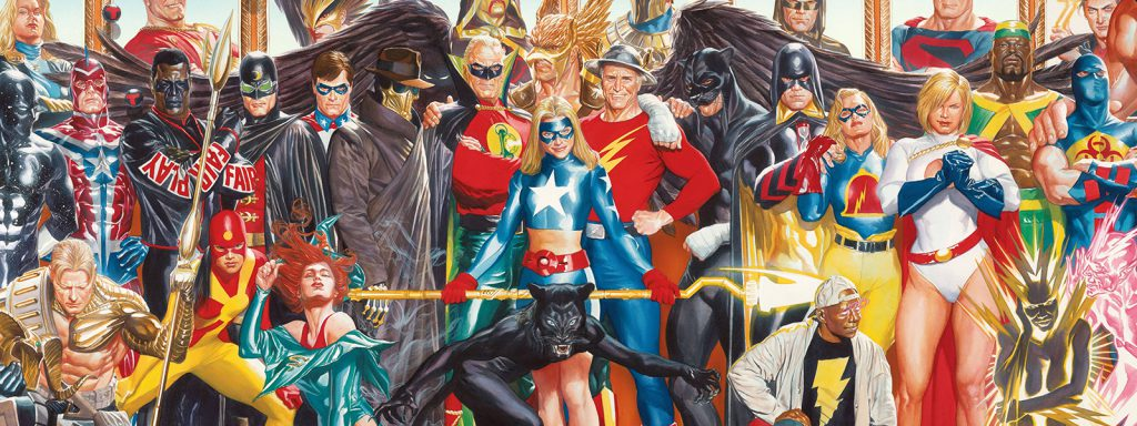 justice society reading order banner art