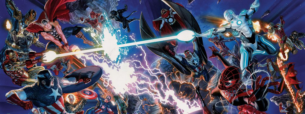 secret wars reading order banner art