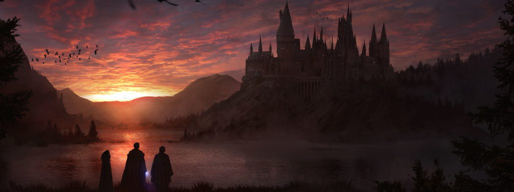 the wizarding world timeline (harry potter) banner art
