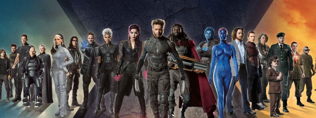 x-men cinematic universe timeline banner art