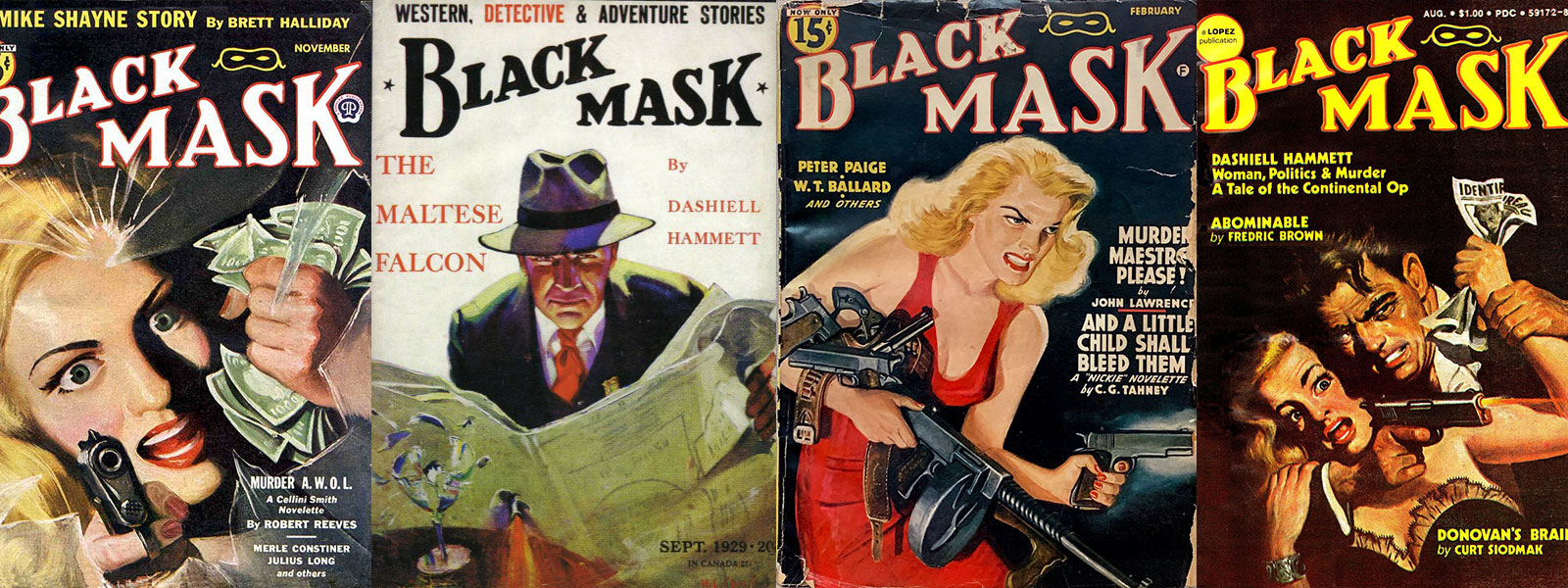 Black Mask Magazine Issues banner