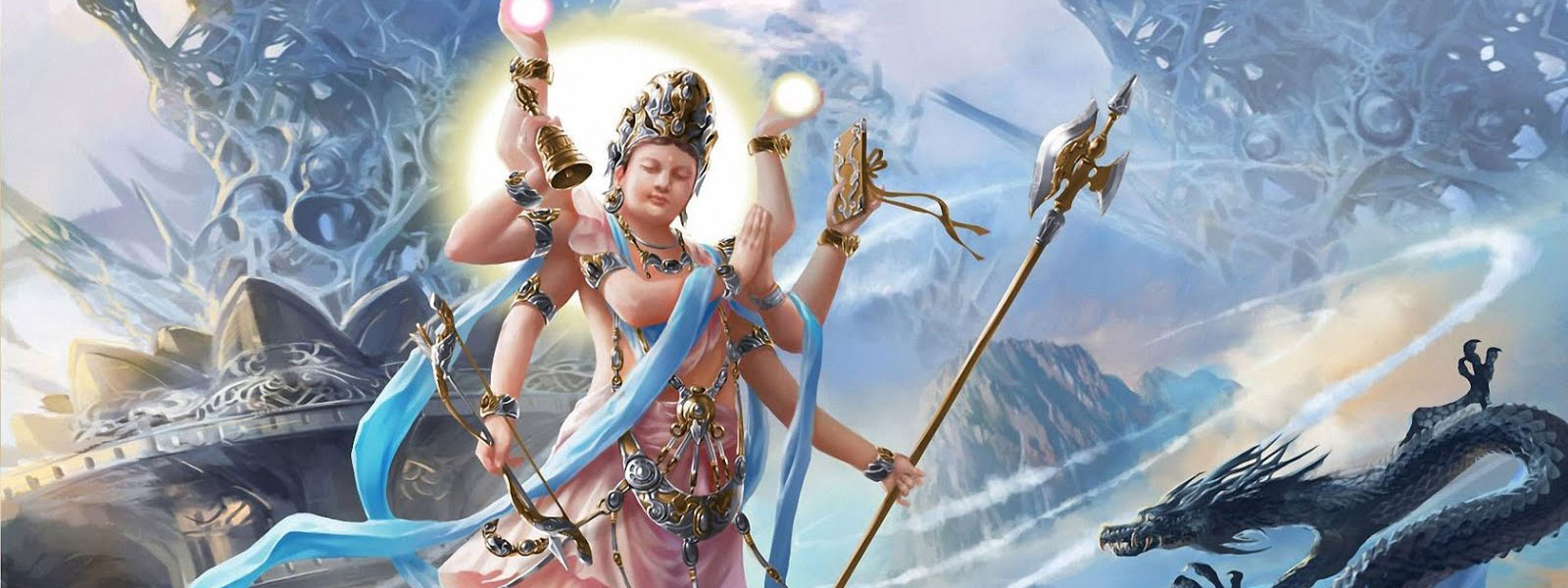 hindu mythology literature and sacred texts banner art