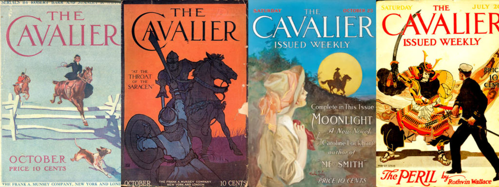 the cavalier magazine banner art