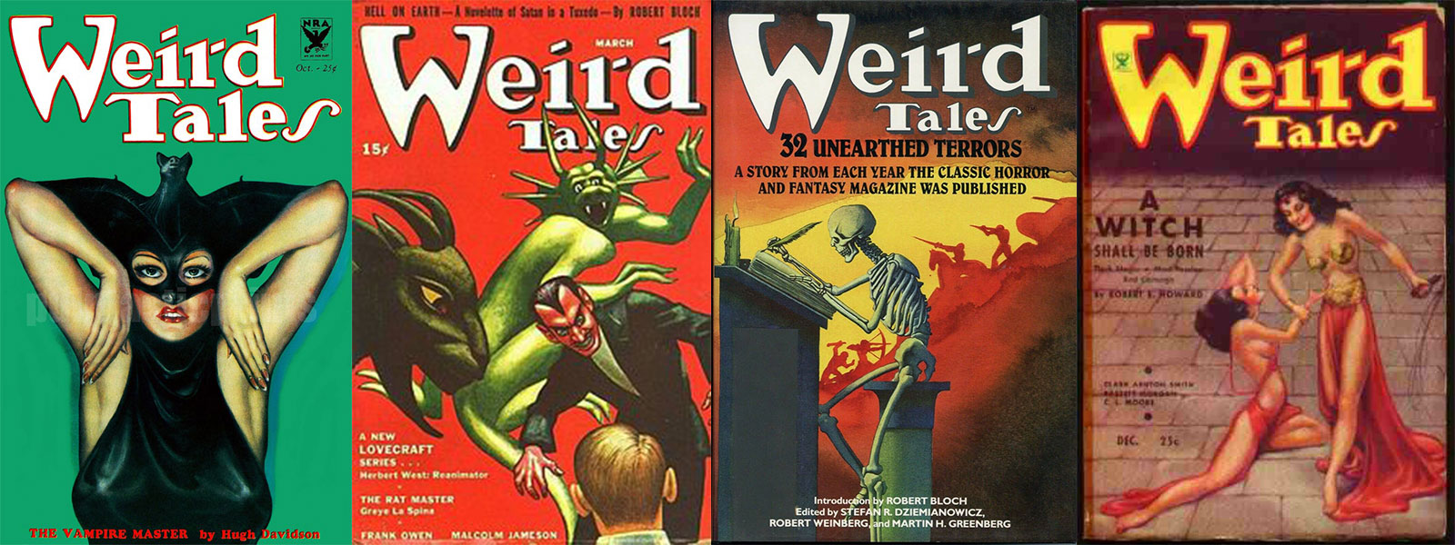 weird tales list of issues banner