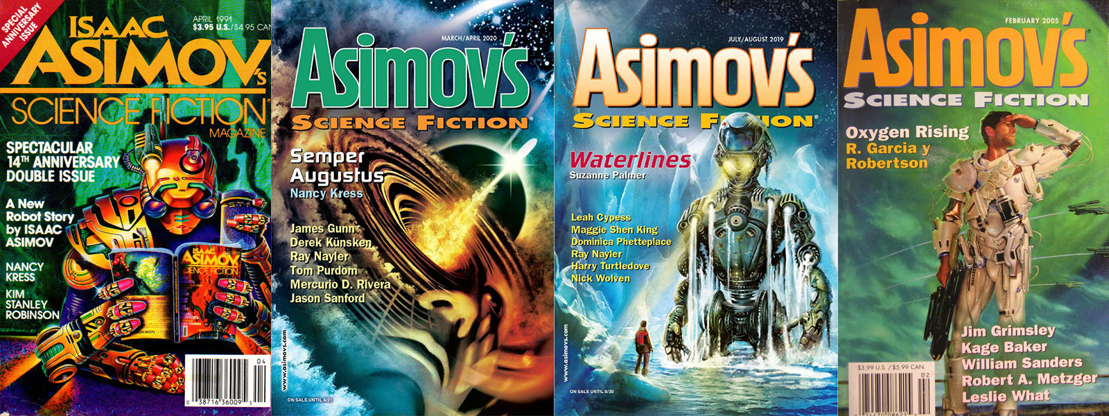 asimov's science fiction magazine banner