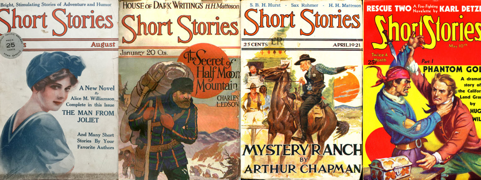 Short Stories Magazine Issues