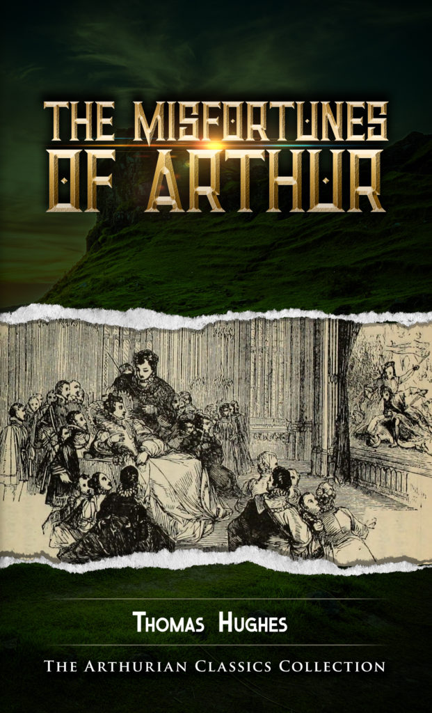 the misfortunes of arthur kindle cover