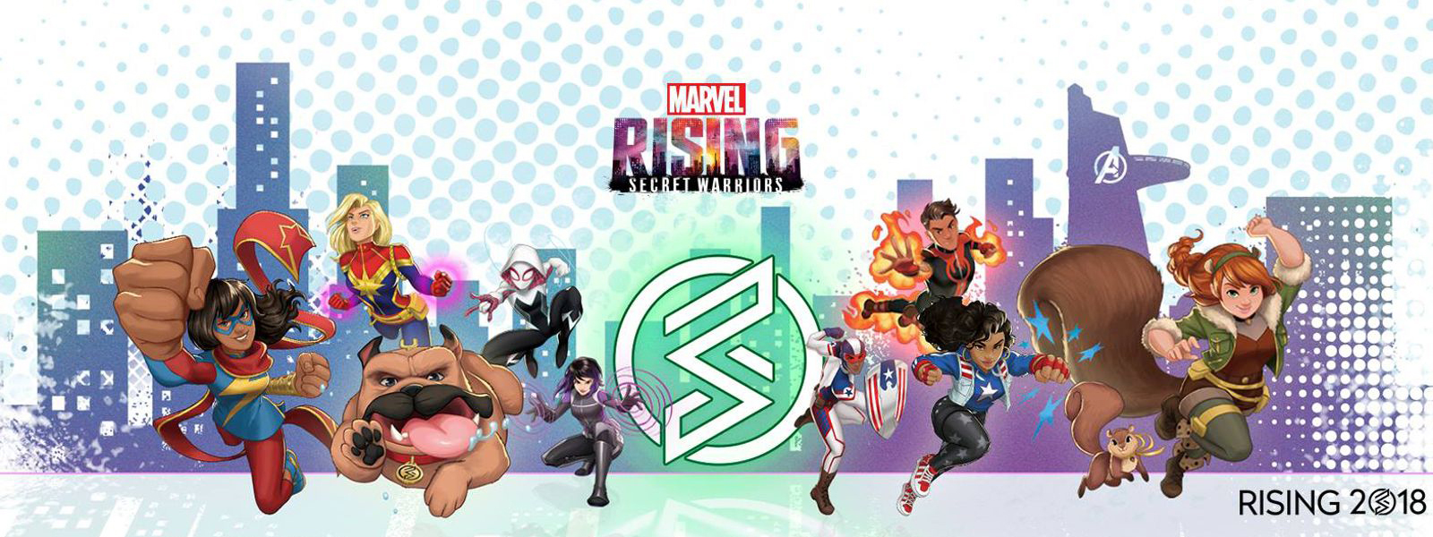 banner for marvel rising initiative