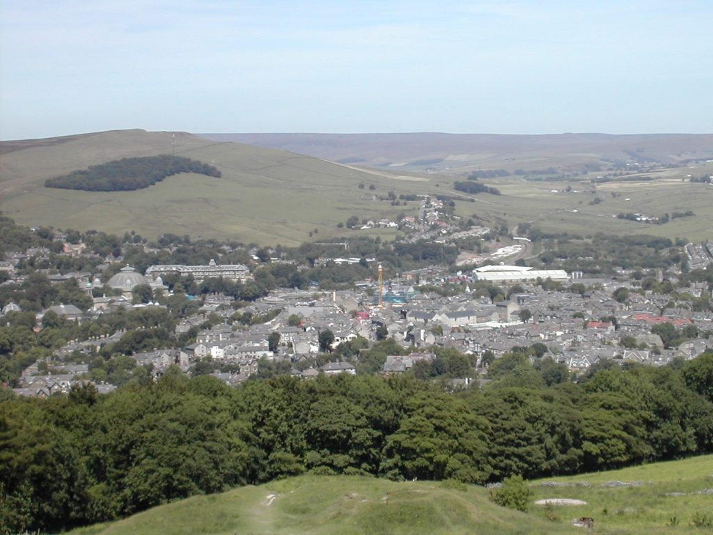 Buxton View From Peakdistrict