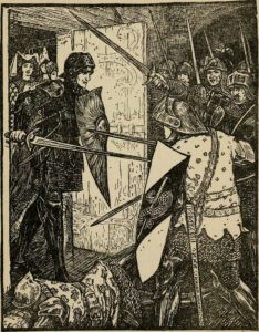 The Death of Agravain