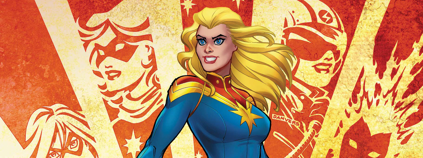 banner for captain marvel reading order
