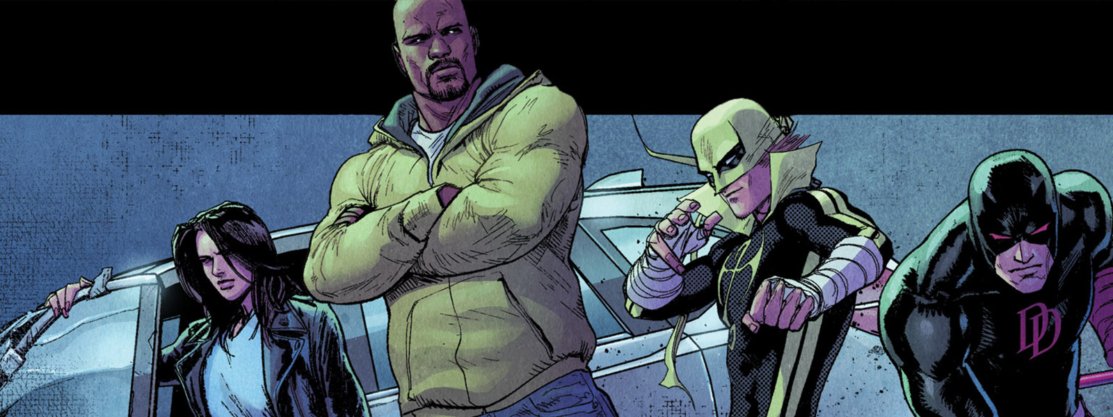 banner for the defenders reading order