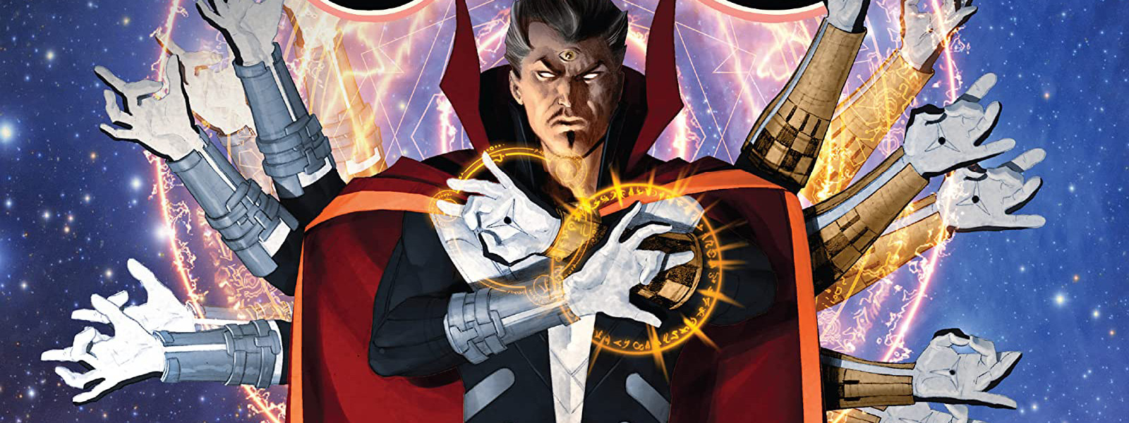 banner for the doctor strange reading order