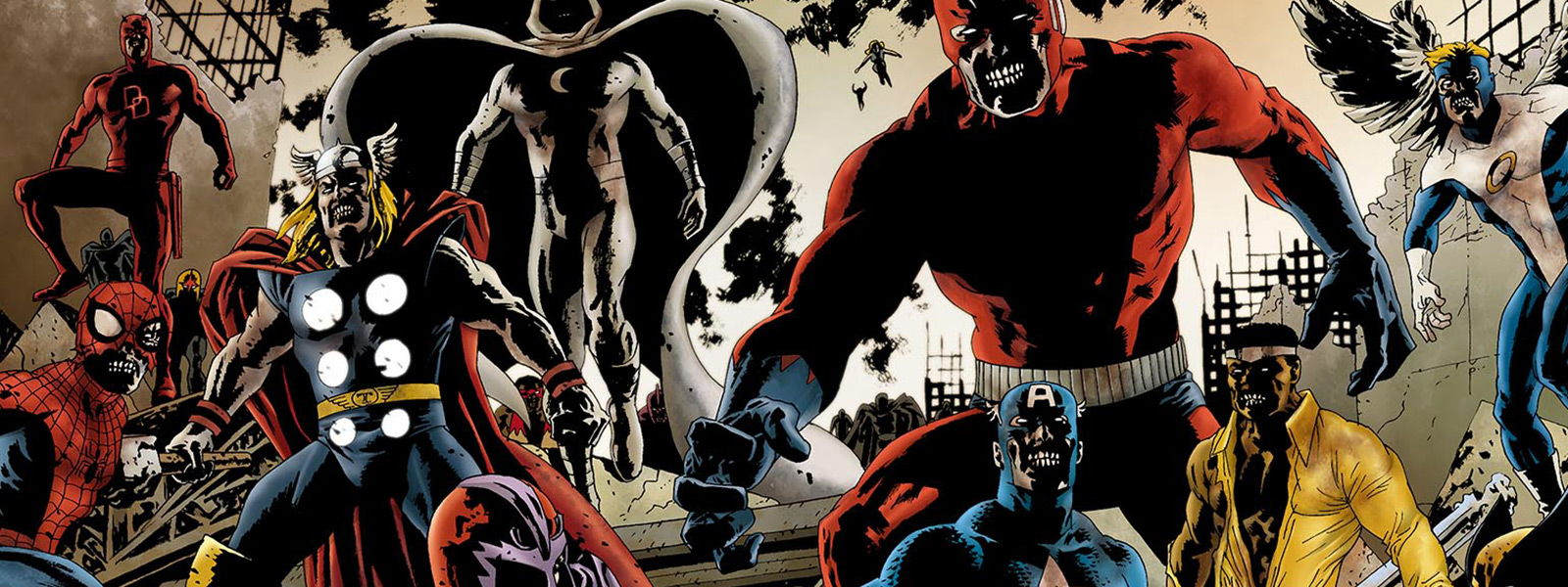 banner for the marvel zombieverse reading order