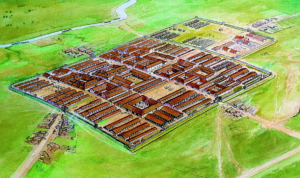 Roman fort at Camelon