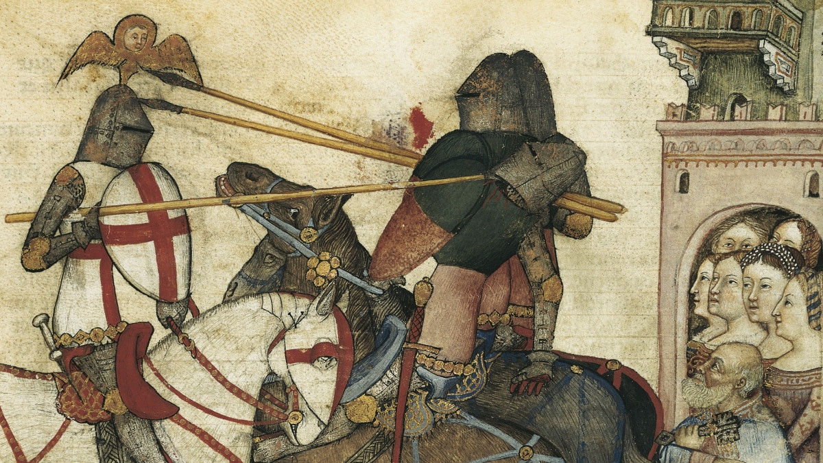 What is the Arthurian Code of Chivalry?