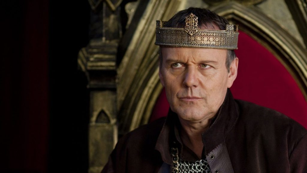 Uther Pendragon in the show Merlin