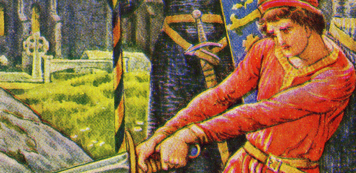 banner of arthurian stories found on the site