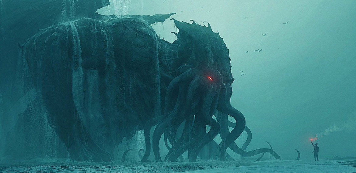 banner art for the cthulhu mythos timeline