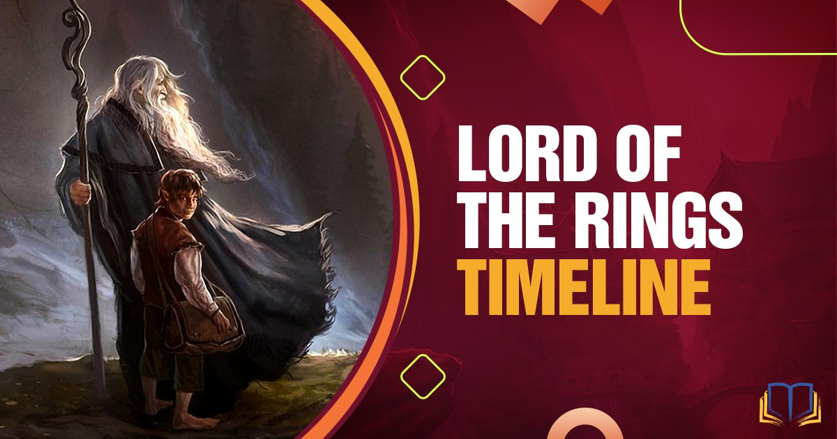banner image that says Lord of the Rings Timeline