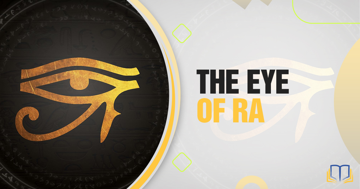 feature image of the eye of ra